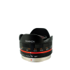 Rokinon 7.5mm f4.5 Ultra Wide Angle Fisheye Lens for Micro 4 or 3 (Black)