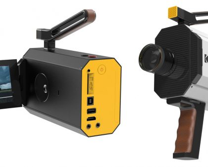 The 8-Millimeter Camera Spielberg and Tarantino Love Just Got a Cool Redesign